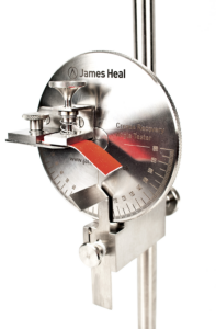 james heal crease recovery tester