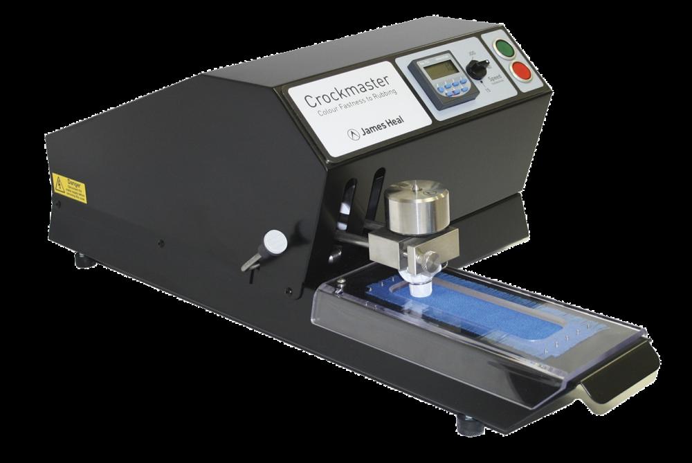 James Heal crockmaster crockmeter motor operated for textile testing