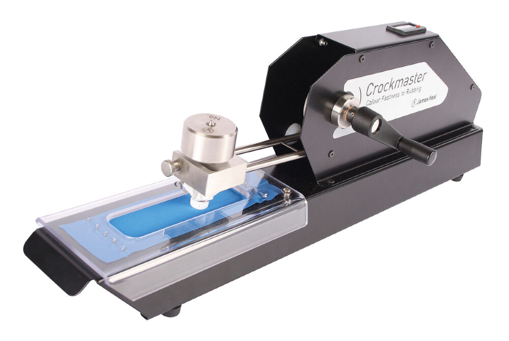 James Heal CrockMaster crockmeter hand operated