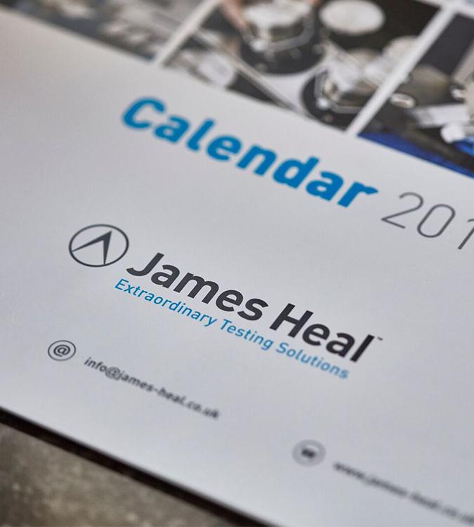 James Heal calendar
