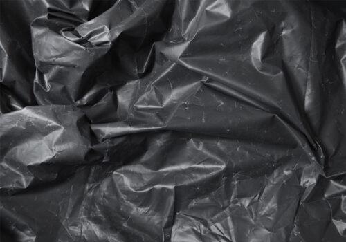 black bin bag plastics