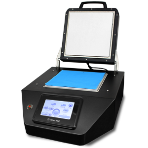 thermaplate scorch and sublimation tester with open lid
