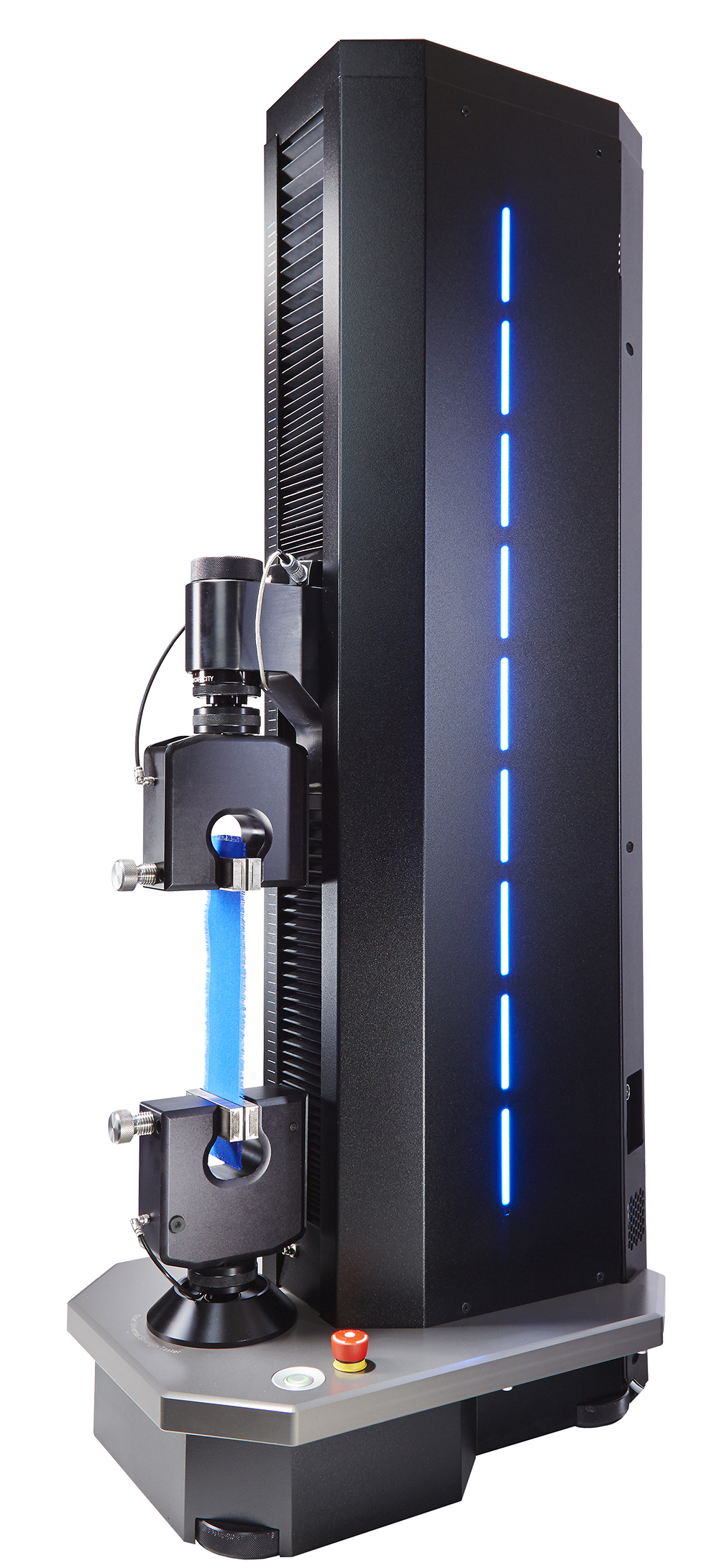 Titan 5 universal testing machine and tensile tester side view