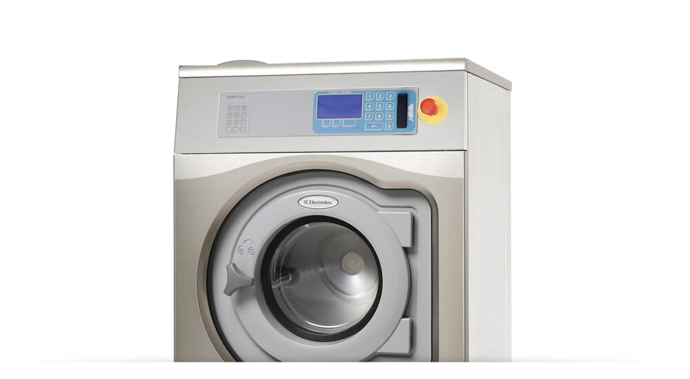 Wascator standardised european washing machine top half of instrument