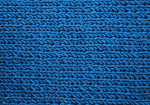 blue wool textile for textile testing