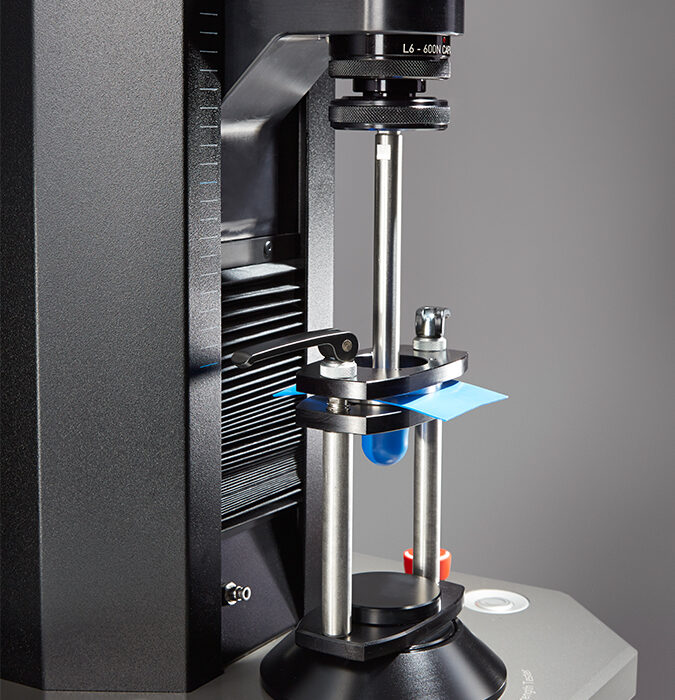 T20A Ball Probe in use on Titan Universal Strength Tester