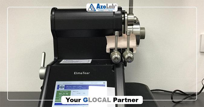 AzoLabs case study James Heal ElmaTear Elmendorf instrument