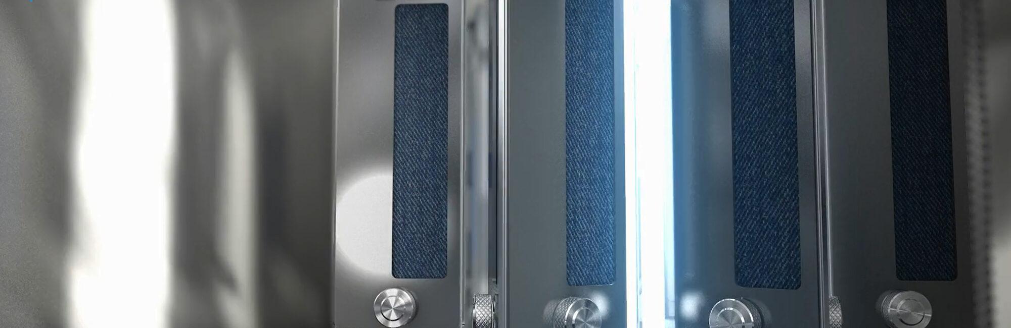 TruFade Light Fastness Tester light chamber
