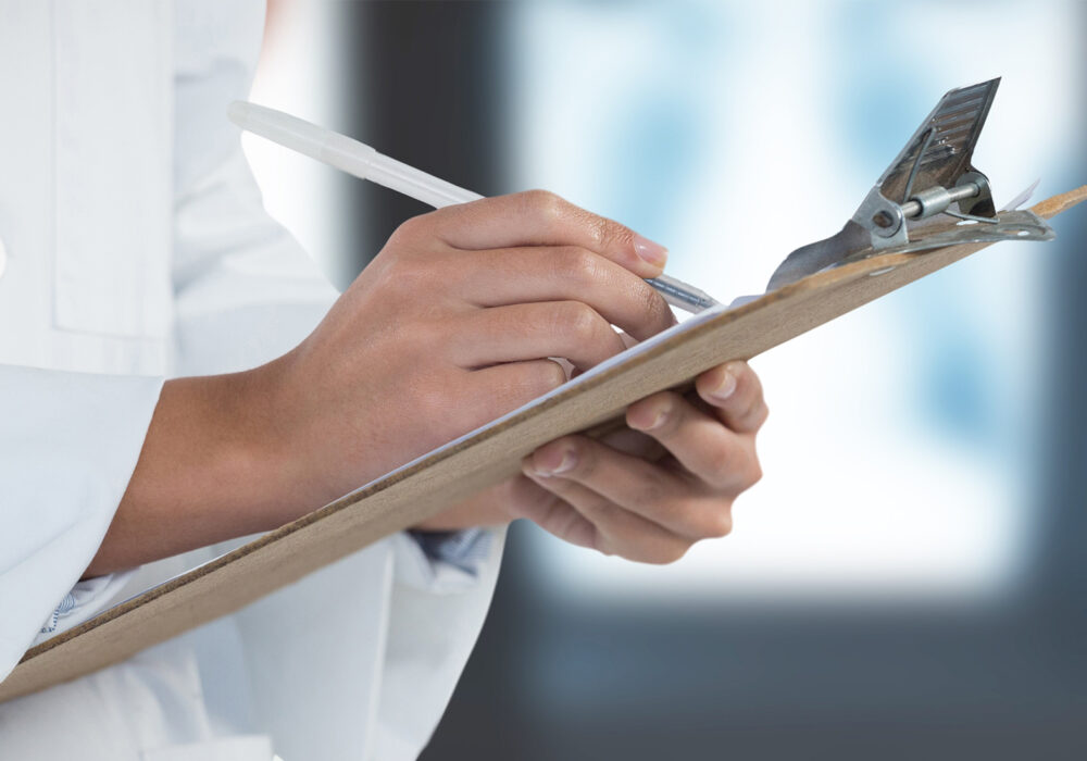 laboratory training clipboard