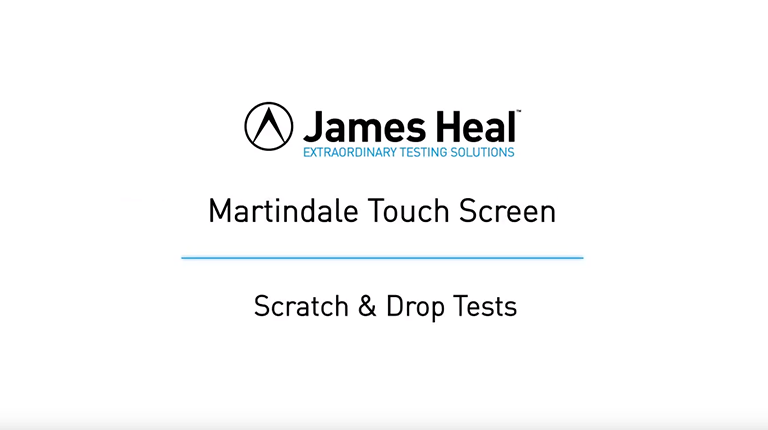 Martindale scratch and drop test