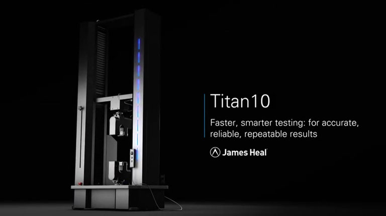 Titan universal testing machine product video