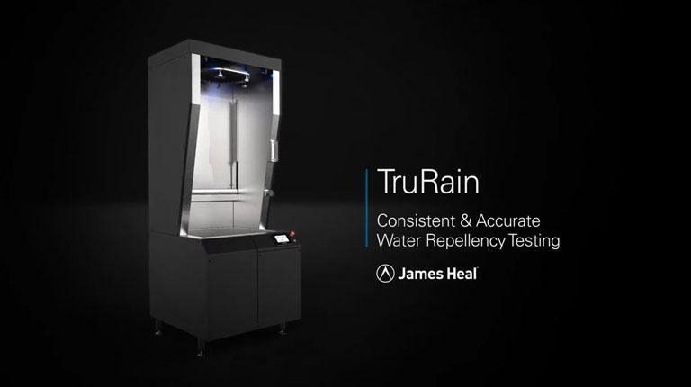 TruRain Water repellency tester product video