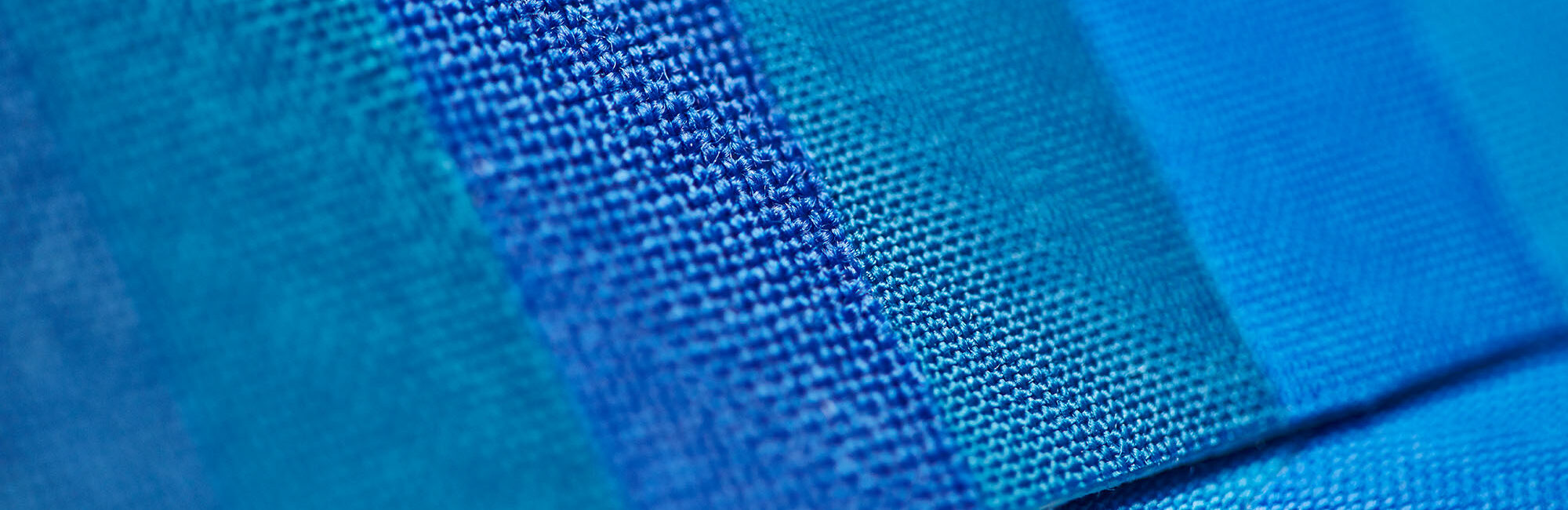 blue wool standards close up