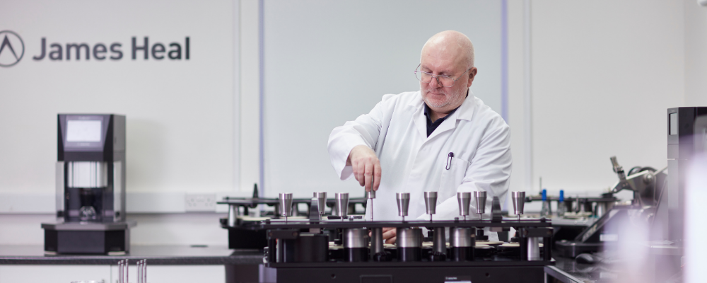 Peter Goodwin in laboratory