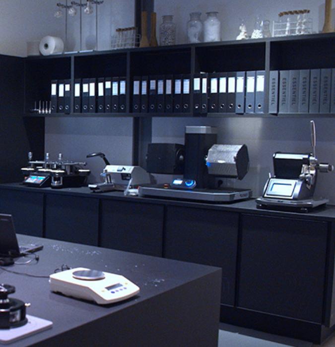 James Heal instruments in the Jack&Jones labs
